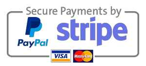Paypal and Stripe Secure Payments